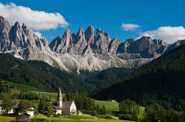 Val di Vunes, Bolzano, South Tyrol.